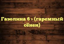 Газолина 6 > (гаремный сёнен)